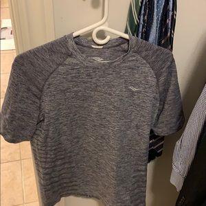 Men's Medium Saucony workout shirt